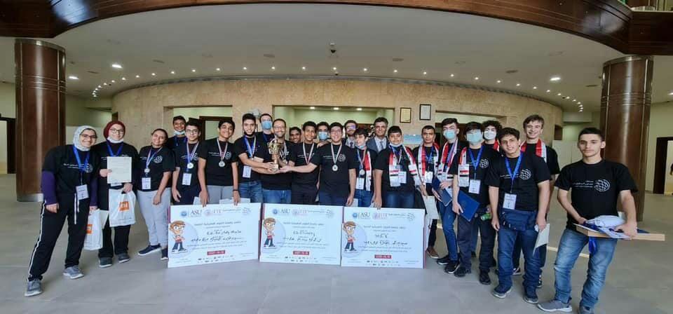 برونزية لأولمبيادنا في المسابقة العربية لمبرمجي المستقبل